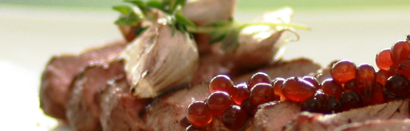 Peninsula Larders Flavour Pearls Blackcurrant with Lamb