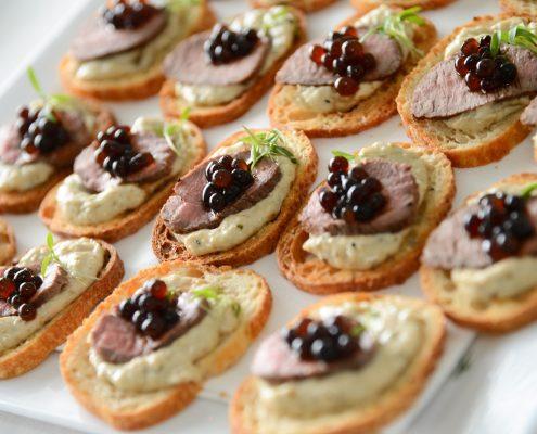 molecular gastronomy Australia_Lamb, baba, balsamic en'croute