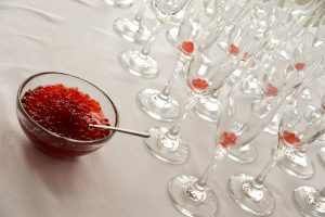 Champagne & Flavour Pearl buffet