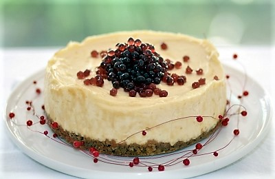 Cheese cake and Flavour Pearls