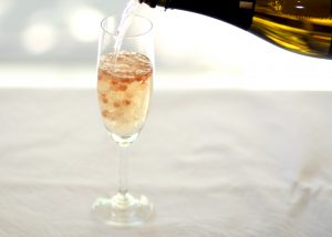 Enjoy Peninsula Larders Flavour Pearls in a glass of champagne to take your next event to a whole new level