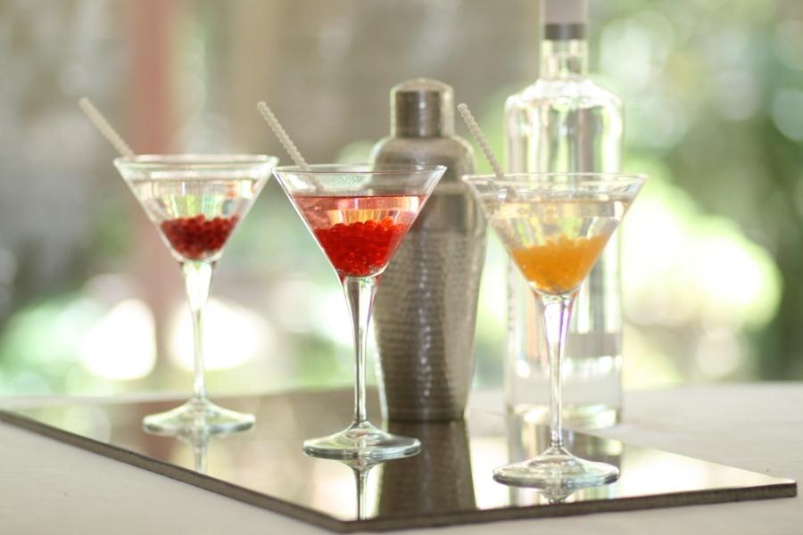 molecular gastronomy Australia_Cocktails & Strawberry, Tangerine & Cherry