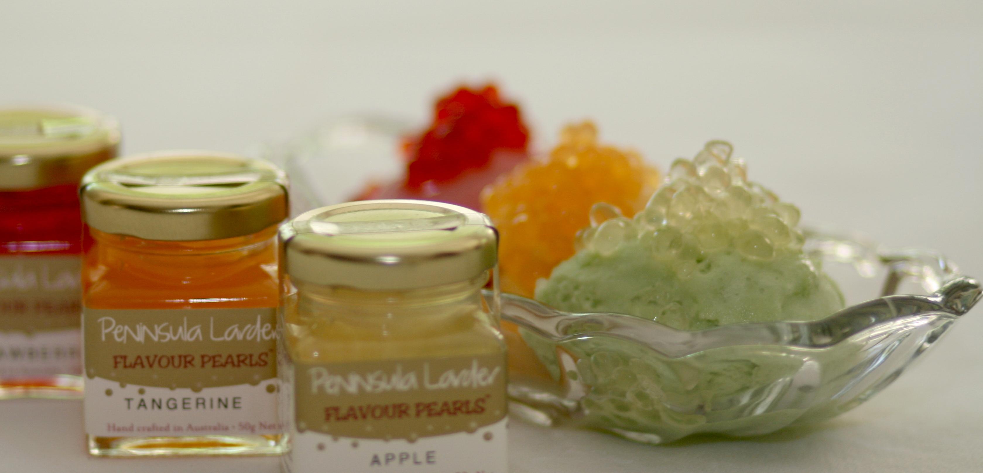 summer sorbets with flavour pearls peninsula larder. Black Bedroom Furniture Sets. Home Design Ideas