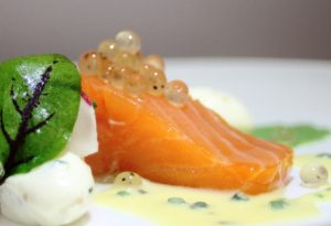seafood garnish, molecular gastronomy, restaurant supplies, flavour pearls, gourmet garnish, lemon and black pepper
