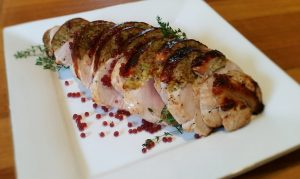 turkey breast, christmas, flavour pearls, christmas recipe, cherry,