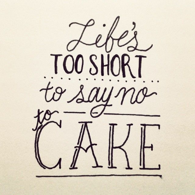 Cake Quote Peninsula Larder