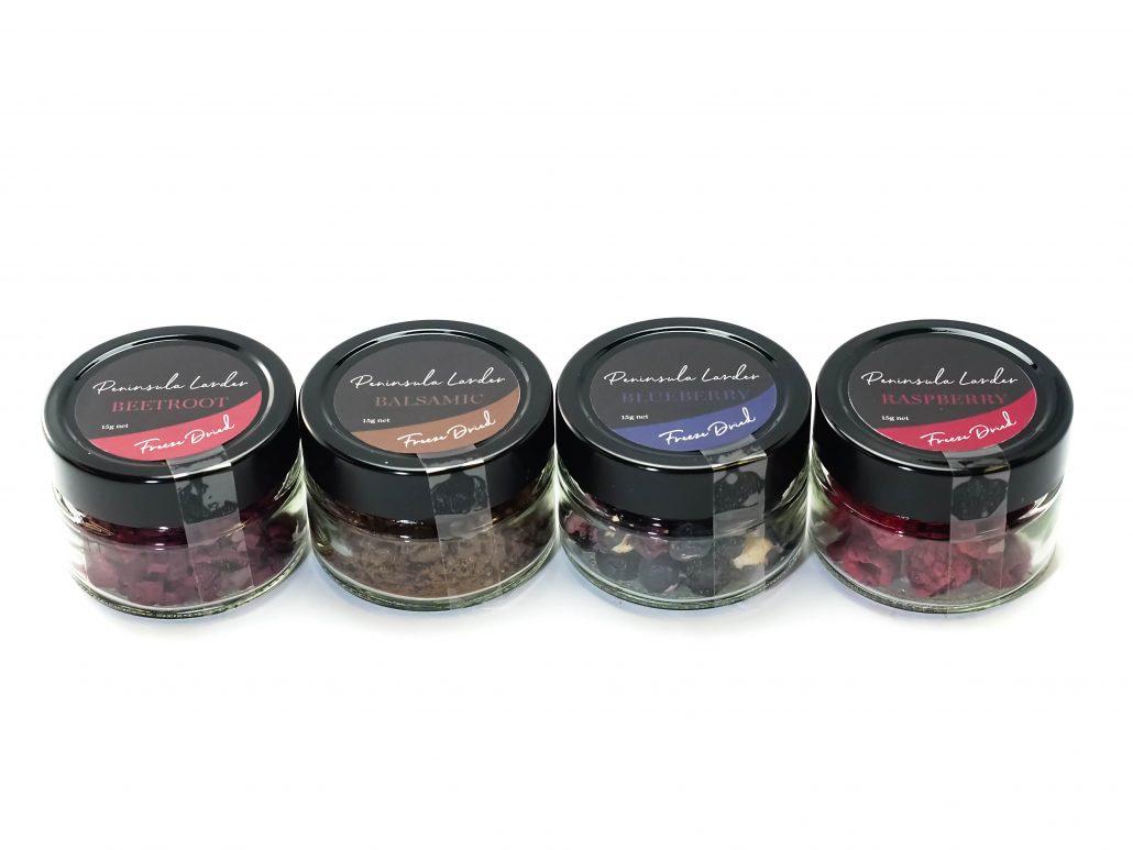 Peninsula Larders Freeze Dried Products 15g Jars