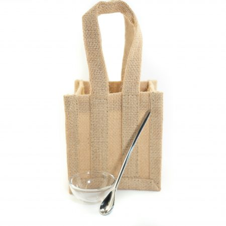 Peninsula Larders Gift Bag Serving Spoon and dish is the perfect way to upsize your Flavour Pearls purchase as a gift