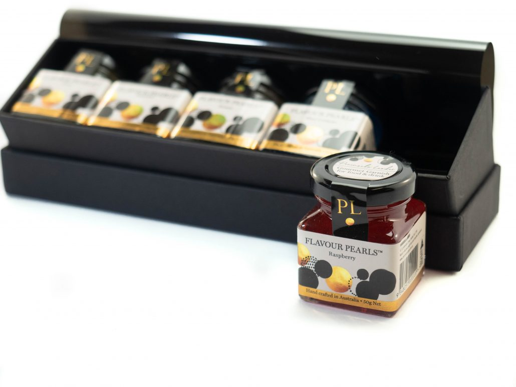 Gift Box with 5 Jars of Flavour Pearls