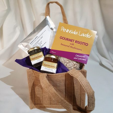 Peninsula Larders Gourmet Hamper makes for a fantastic gift idea