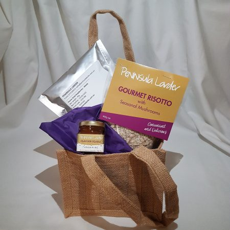 Peninsula Larders Mini Gourmet Hamper is a great gift idea