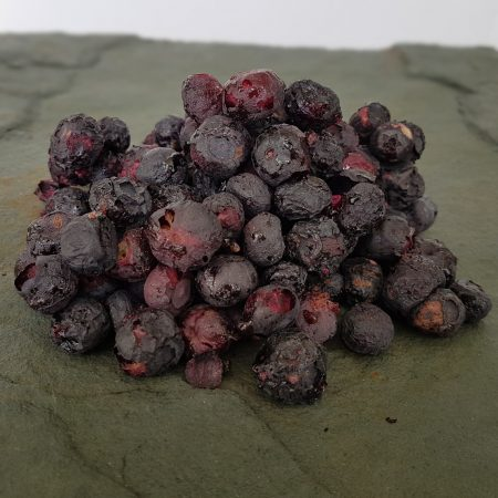 Peninsula Larders Australian Made freeze dried blueberries are a convenient way to add texture to your gourmet creations