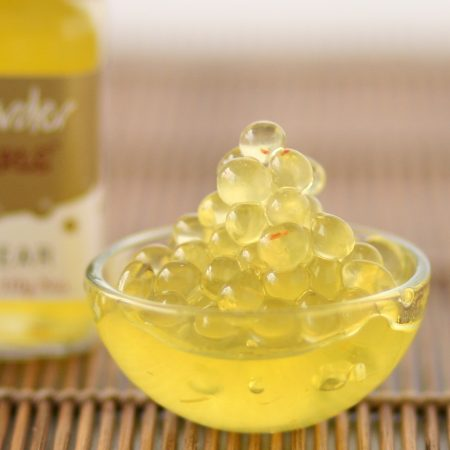 Peninsula Larders Saffron & Pear Flavour Pearls add a gourmet touch to your food