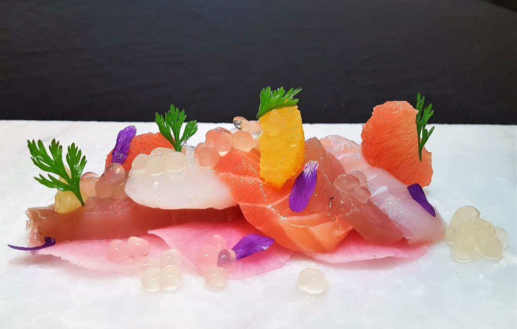 Yuzu and Sashimi | Peninsula Larder