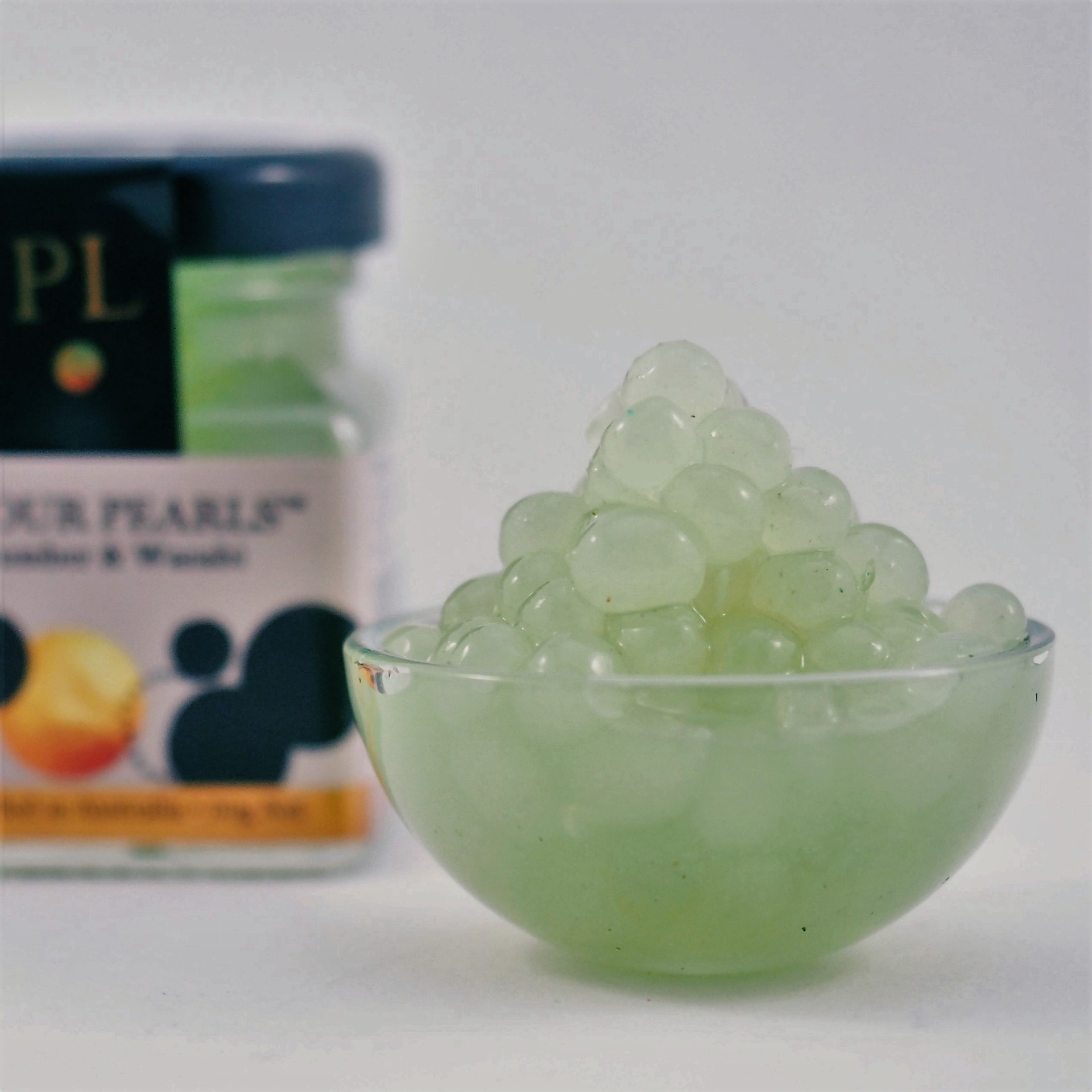 Cucumber and Wasabi Flavour Pearls Limited Edition