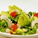 Avocado Salad with Blood Orange Flavour Pearls