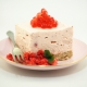 Strawberry Cheesecake with Strawberry Flavour Pearls