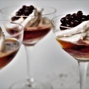 Affogato with Espresso Flavour Pearls